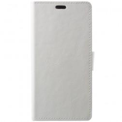 Atvēramais maciņš, grāmata - balts (Huawei P20 Pro)