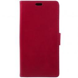 Atvēramais maciņš, grāmata - sarkans (Huawei P20 Pro)