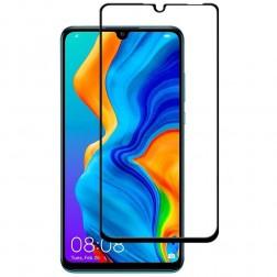 """""""Premium"""" Tempered Glass pilnīgi aizsedzams ekrāna aizsargstikls 0.2 mm - melns (P30 Lite)"""