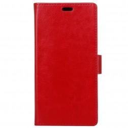 Atvēramais maciņš, grāmata - sarkans (P9 Lite Mini)