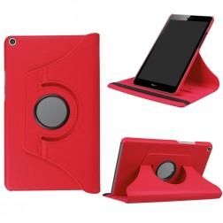 Atvēramais maciņš 360° - sarkans (MediaPad T3 8.0)