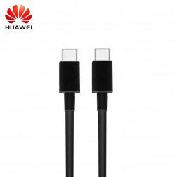 """""""Huawei"""" Type-C Type-C vads - melns (1 m.)"""