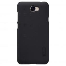 """""""Nillkin"""" Frosted Shield apvalks - melns + ekrāna aizsargplēve (Y5 II)"""
