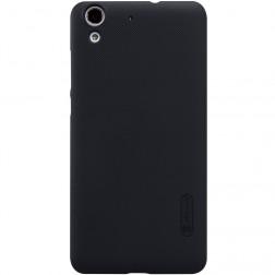 """""""Nillkin"""" Frosted Shield apvalks - melns + ekrāna aizsargplēve (Y6 II)"""