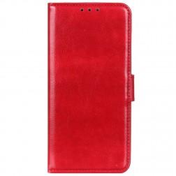 Atvēramais maciņš, grāmata - sarkans (P40 Lite E / Y7p)