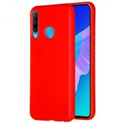"""Shell"" cieta silikona (TPU) apvalks - sarkans (P40 Lite E / Y7p)"