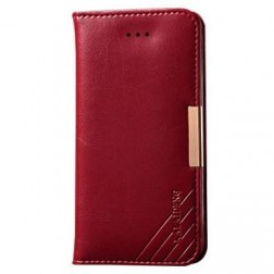 """""""Kalaideng"""" Royale atvēramais futrālis - sarkans (iPhone 5 / 5S)"""