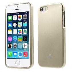 """Mercury"" apvalks - zelta (iPhone 5 / 5S)"