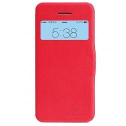 """Nillkin"" Fresh atvēramais futrālis - sarkans (iPhone 5c)"