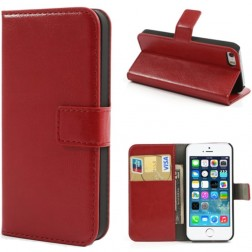 """Lychee"" atvēramais futrālis - sarkans (iPhone 5 / 5S)"