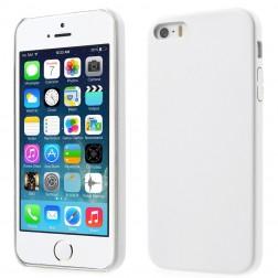 """Slim Leather"" apvalks - balts (iPhone 5 / 5S)"