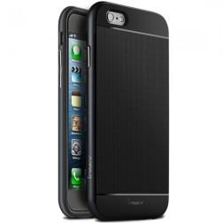 """IPAKY"" cieta silikona (TPU) apvalks - melns (iPhone 6 / 6s)"