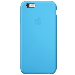 "Oficiāls ""Apple"" Silicone Case apvalks - zils (iPhone 6 / 6s)"