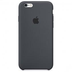 "Oficiāls ""Apple"" Silicone Case apvalks - melns (iPhone 6 / 6s)"