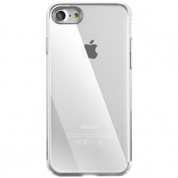 """Baseus"" Glitter apvalks - sudrabs (iPhone 7 / 8)"