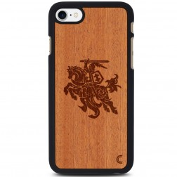 """Crafted Cover"" dabīga koka apvalks - Vytis (iPhone 7)"