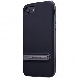 """Nillkin"" Youth Kickstand apvalks - melns apmales melnā krāsā (iPhone 7 / 8)"