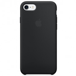 "Oficiāls ""Apple"" Silicone Case apvalks - melns (iPhone 7 / 8)"