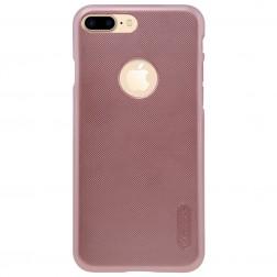 """Nillkin"" Frosted Shield apvalks - rozs + ekrāna aizsargplēve (iPhone 7 Plus / 8 Plus)"