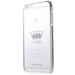 """X-Fitted"" Crown Swarovski apvalks - sudrabs (iPhone 6 Plus / 6s Plus)"