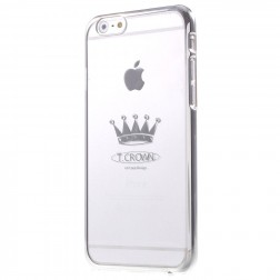 """""""X-Fitted"""" Crown Swarovski apvalks - sudrabs (iPhone 6 / 6S)"""