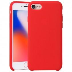 """Shell"" cieta silikona (TPU) vāciņš - sarkans (iPhone 7 / 8)"