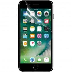 """""""ISME"""" ekrāna aizsargplēve (pilnīgi aizsedzama) - dzidra (iPhone 7 / 8)"""