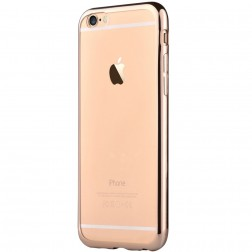 """Devia"" Glitter apvalks - dzidrs, zelta + ekrāna aizsargstikls (iPhone 7 / 8)"