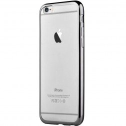 """Devia"" Glitter apvalks - dzidrs, melns + ekrāna aizsargstikls (iPhone 7 / 8)"