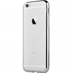 """""""Devia"""" Glitter apvalks - dzidrs, sudrabs + ekrāna aizsargstikls (iPhone 7 / 8)"""