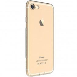 """""""Devia"""" Naked apvalks - dzidrs + ekrāna aizsargstikls (iPhone 7 / 8)"""