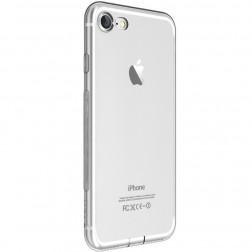 """""""Devia"""" Naked dzidrs apvalks - pelēks + ekrāna aizsargstikls (iPhone 7 / 8)"""