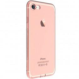"""""""Devia"""" Naked dzidrs apvalks - rozs + ekrāna aizsargstikls (iPhone 7 / 8)"""