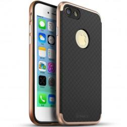 """IPAKY"" cieta silikona (TPU) apvalks - melns / rozs (iPhone 7 / 8)"