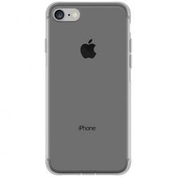 Planākais TPU dzidrs apvalks - pelēks (iPhone 7 / 8)