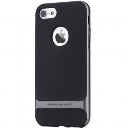 """Rock"" Royce apvalks - melns / pelēks (iPhone 7 / 8)"