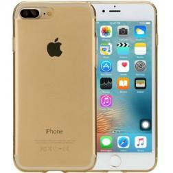 Planākais TPU dzidrs apvalks - zelta (iPhone 7 Plus / 8 Plus)