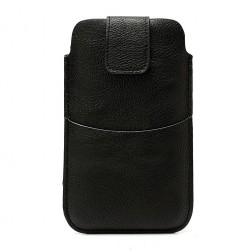 Telefona ieliktņa (maks) - melna (L izmērs)