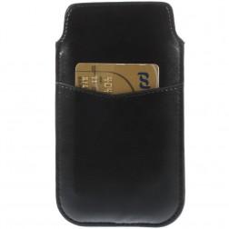 Telefona ieliktņa - melna (L izmērs)