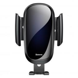 """""""Baseus"""" Future Gravity automašīnas telefona turētājs (restēm) - melns"""