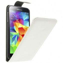 Klasisks atvēramais futrālis - balts (Galaxy S5 / S5 Neo)