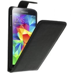 Klasisks atvēramais futrālis - melns (Galaxy S5 / S5 Neo)