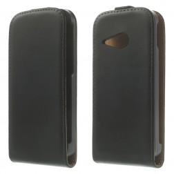 Klasisks atvēramais futrālis - melns (One Mini 2)