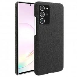 """Fashion"" cieta silikona (TPU) apvalks - melns (Galaxy Note 20)"