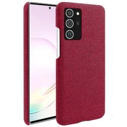 """Fashion"" cieta silikona (TPU) apvalks - sarkans (Galaxy Note 20)"