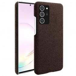"""""""Fashion"""" cieta silikona (TPU) apvalks - brūns (Galaxy Note 20)"""
