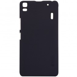 """Nillkin"" Frosted Shield apvalks - melns + ekrāna aizsargplēve (K3 Note)"
