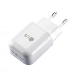 """LG"" Fast Charge tīkla lādētājs - balts (1.8 A)"