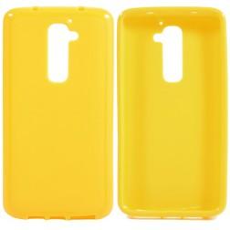 """""""Jelly Case"""" futrālis - dzeltens (G2)"""