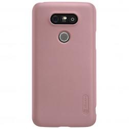 """Nillkin"" Frosted Shield futrālis - rozs + ekrāna aizsargplēve (G5 / G5 SE)"